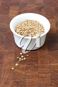 Royalty Free Photo of a Bowl of Fenugreek Seeds