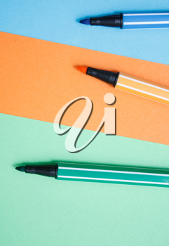 Royalty Free Photo of a Bunch of Pens