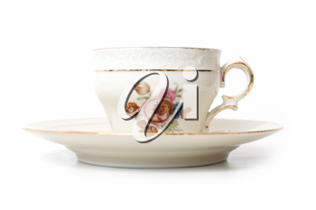 Royalty Free Photo of an Old Teacup