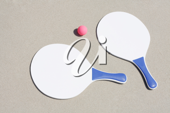 Royalty Free Photo of Two Paddles