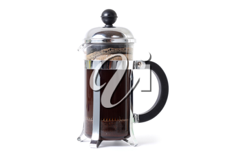 Royalty Free Photo of a Coffee Press