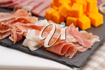 Royalty Free Photo of an Italian Cold Cut Platter