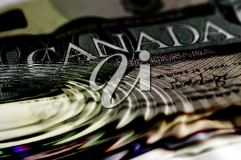 Royalty Free Photo of Canadian Currency