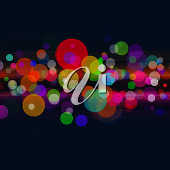 Abstract disco and party backgrounds for your design