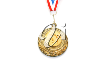 Royalty Free Photo of a Karate Gold Medal