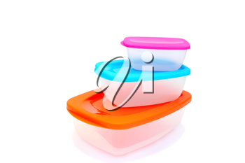 Royalty Free Photo of Plastic Containers
