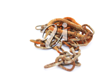 Royalty Free Photo of a Rusty Chain