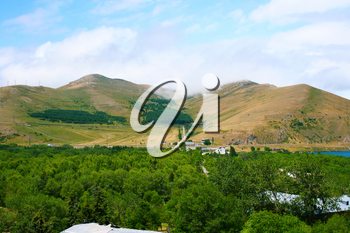 Royalty Free Photo of an Armenian Mountain Landscape