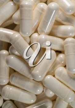 Dietary Nutrional Supplements In Pill Capsule
