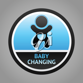 Symbol for women and baby , baby changing, vector