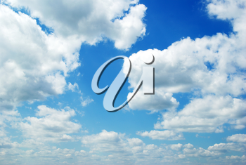 Royalty Free Photo of Clouds in a Blue Sky