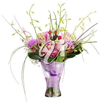 Royalty Free Photo of a Bouquet in a Vase