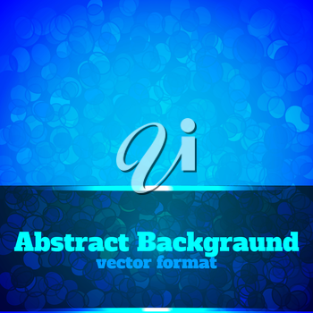Abstract background circles blue