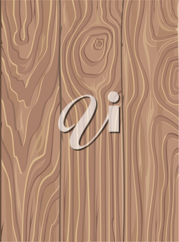 Wooden board vector seamless pattern. Flat style illustration. Three panels with annual rings texture. Natural background. For wrapping paper, printing materials wallpapers, textiles, surfaces, design
