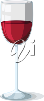Illustration of a wine