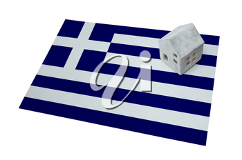 Small house on a flag - Living or migrating to Greece