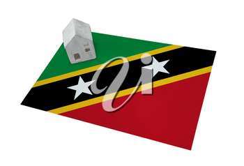 Small house on a flag - Living or migrating to Saint Kitts and Nevis