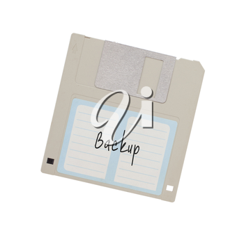 Floppy Disk - Tachnology from the past, isolated on white - Backup
