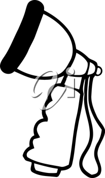 Clipart Image of A Spray Nozzle For a Gardening Hose