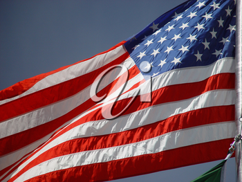 Stock Photo of the US Flag