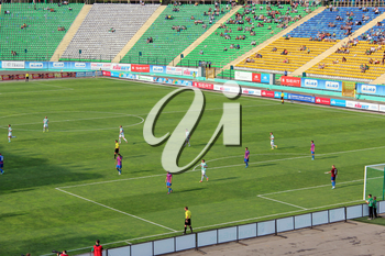 championship for football of Ukraine, match between Carpaty Lvov and Arsenal Kiev