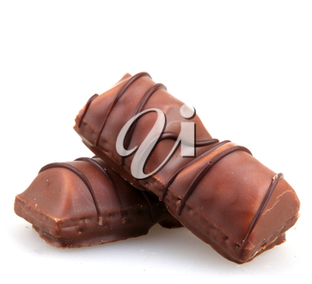 AYTOS, BULGARIA - APRIL 03, 2015: Kinder Bueno Chocolate Candy Bar Isolated On White Background. Kinder Bueno Is A Chocolate Bar Made By Italian Confectionery Maker Ferrero.