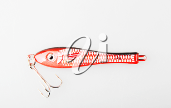 Fishing Tackle Against White Background