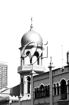 blur  in south africa  old  mosque   in city center of durban   and religion building