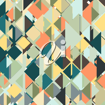 Abstract colored background, triangle design vector illustration.