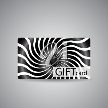 Abstract Beautiful Gift Card Design, Vector Illustration.