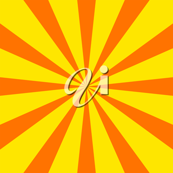 Simple radial sunray vector background, eps 8