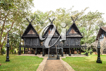 Black Temple in Chiang Rai City, Thailand
