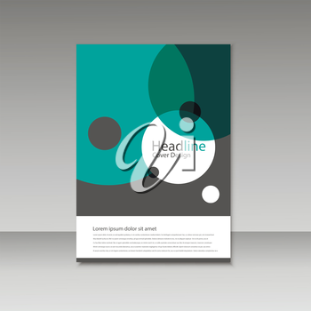 Abstract brochure design. Modern cover backgrounds. Vector template.
