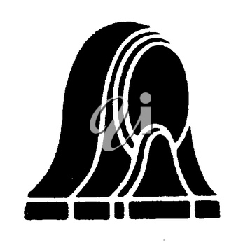 Royalty Free Clipart Image of an Object