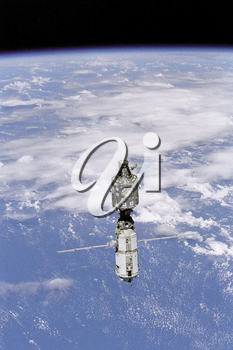 Royalty Free Photo of the International Space Station (ISS)