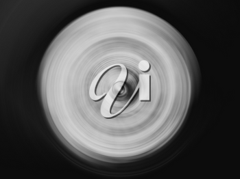 HORIZONTAL BLACK AND WHITE VIVID SPINNING BLUR TWIRL SWIRL MOTION ABSTRACTION BACKGROUND BACKDROP