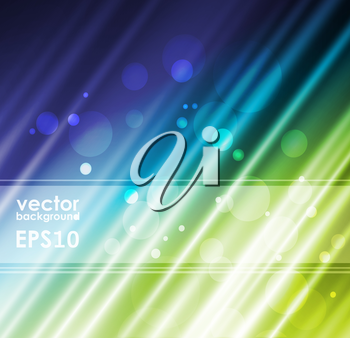 Green silk fabric for backgrounds, vector illustration eps10