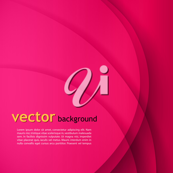 Abstract colorful vector wave background . EPS 10