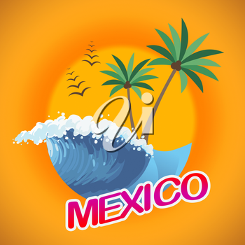 Mexico Vacation Means Cancun Holiday And Beach