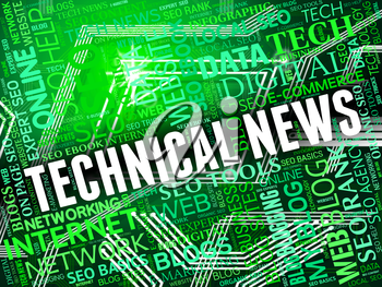 Technical News Showing Multimedia Technologies And Info