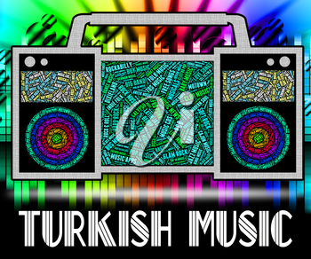 Turkish Music Showing Central Asian And Acoustic
