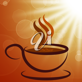 Cup And Saucer Meaning Sun Rays And Sunburst