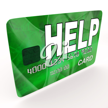Help Bank Card Meaning Financial And Monetary Contributions