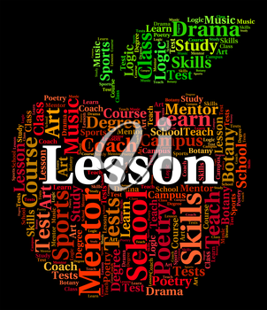 Lesson Word Meaning Lectures Seminar And Text