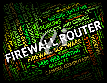 Firewall Router Showing No Access And Distribute