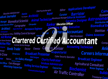 Chartered Certified Accountant Meaning Balancing The Books And Book Keeper