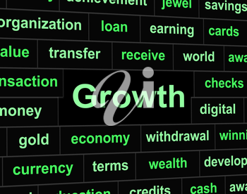 Growth Finances Meaning Rise Increase And Earnings
