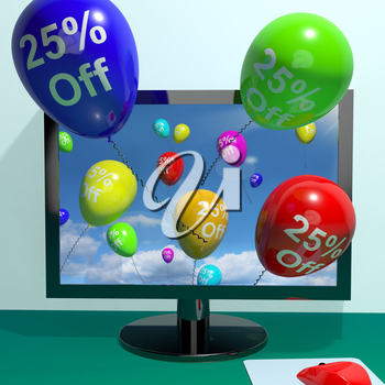 25% Off Balloons From Computer Shows Sale Discount Of Twenty Five Percent Online