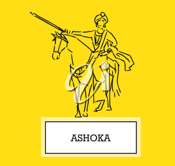 Illustration of Ashoka, AI 8 supported.