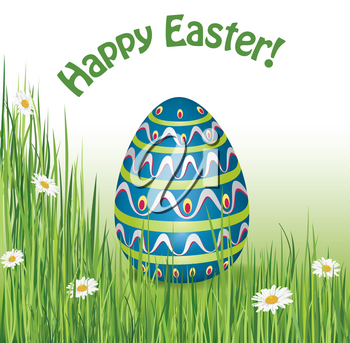 Easter Sign. Easter greeting card background. Religious faith symbol.